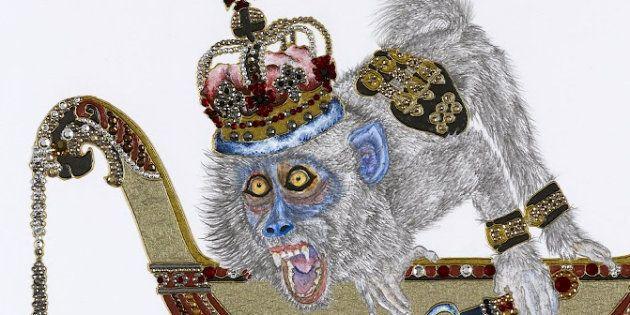 C'est samedi, c'est galerie: des singes, des moines, une blouse