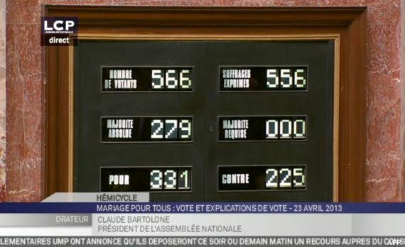 Le mariage gay voté définitivement à l'Assemblée nationale, mais le feuilleton