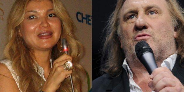 Gérard Depardieu en duo avec la fille du président de