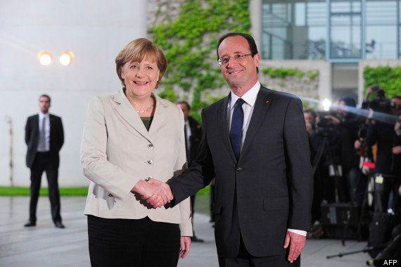 Rencontre Hollande - Merkel : un duel autour de la croissance en