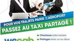 Partager un taxi pour payer moins cher, c'est