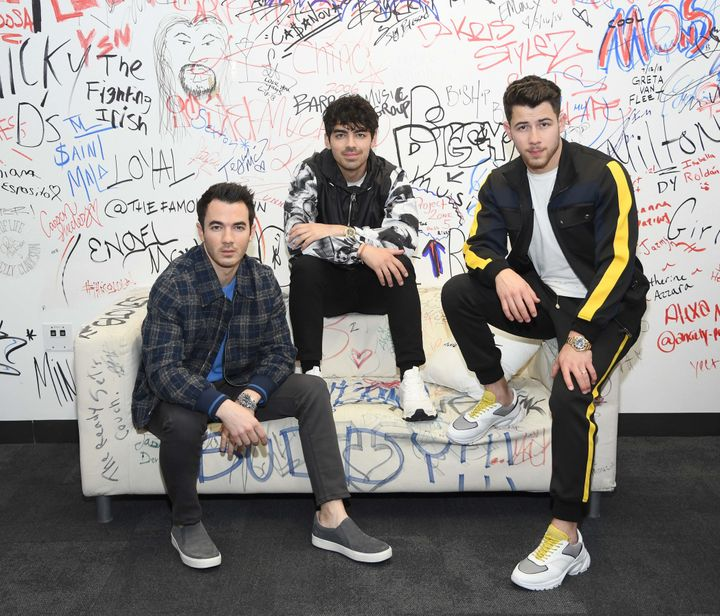 "Jonas Brothers are out with a new single called ""Sucker."""
