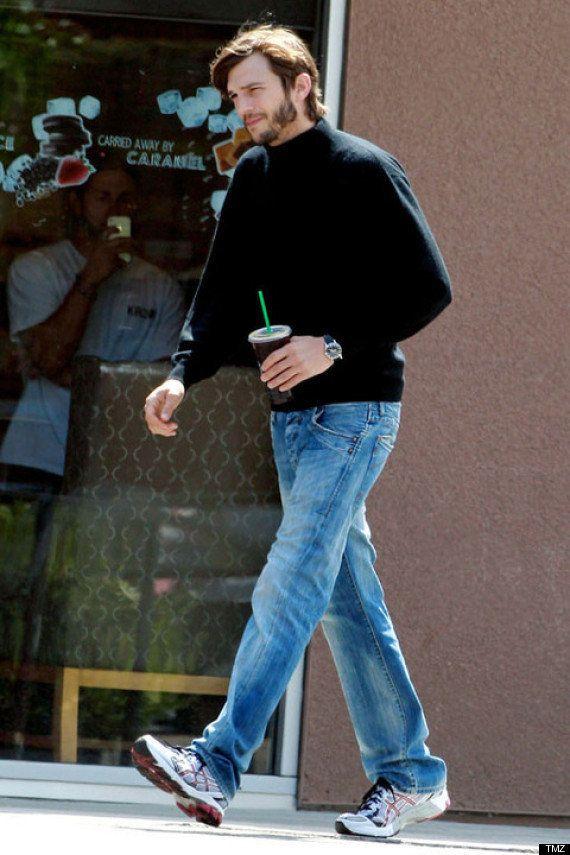 Ashton Kutcher en Steve Jobs, les premières
