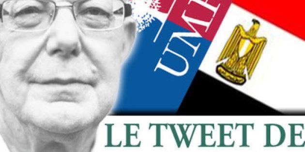 Le tweet de Jean-François Kahn - L'UMP comme l'Égypte et la