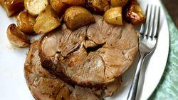 La recette du week-end: gigot d'agneau aux pommes