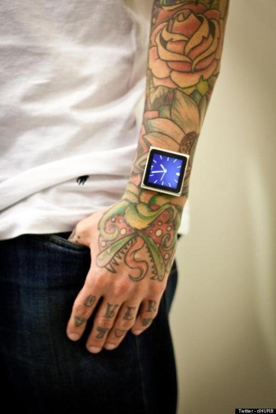 Le tatoueur Dave Hurban se greffe un iPod nano au poignet -
