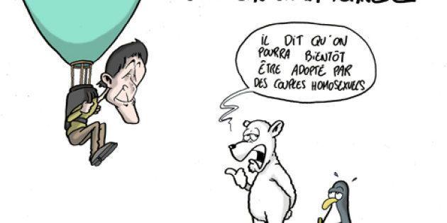 Hollande envoie Hulot sauver la