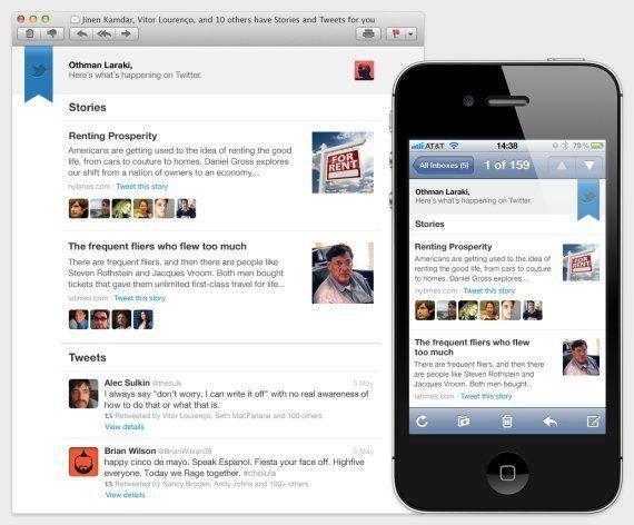 Twitter lance un résumé hebdomadaire des tweets de ses utilisateurs par