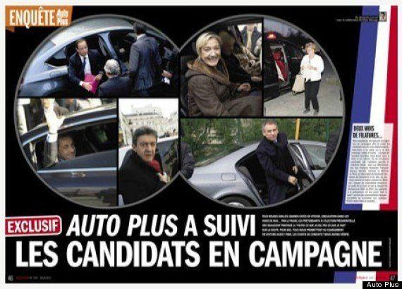 Auto Plus enlève 11 points à l'escorte de Nicolas Sarkozy et huit à celle de François Hollande -