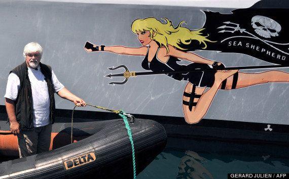Sea Shepherd: Brigitte Bardot propose de prendre la place de Paul Watson en