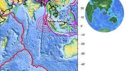 Alerte au tsunami dans l'océan