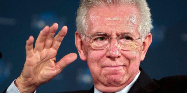 Le président du Conseil italien Mario Monti annonce sa démission après le vote du