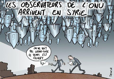 Syrie: que peuvent observer les