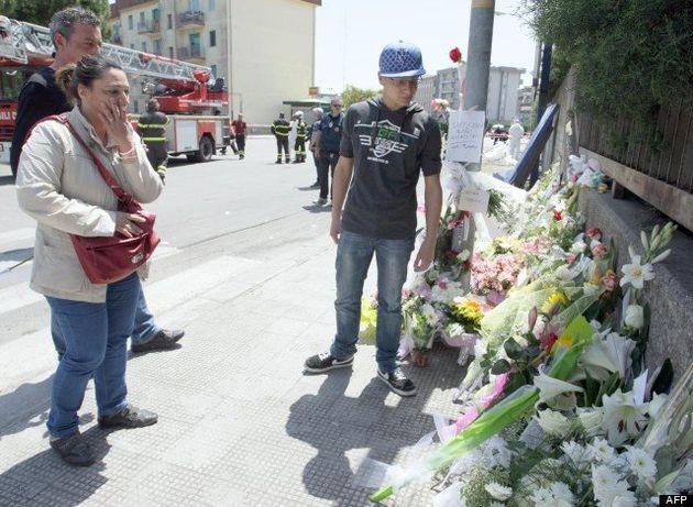 Émotion après l'attentat en Italie: un acte isolé et fou, hypothèse