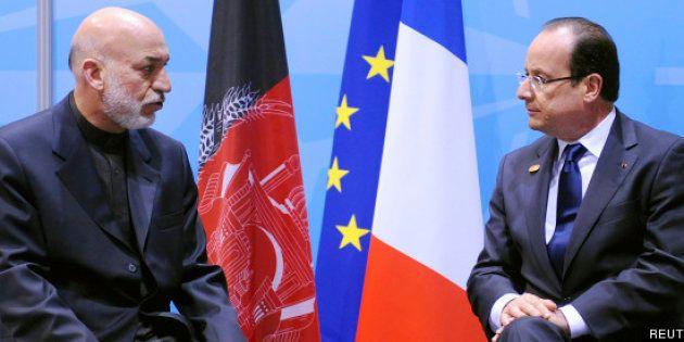 Retrait d'Afghanistan: François Hollande réaffirme son calendrier, l'Otan joue