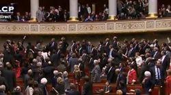 VIDEO - Incident de séance juste avant le vote du mariage