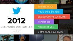 2012 sur Twitter et