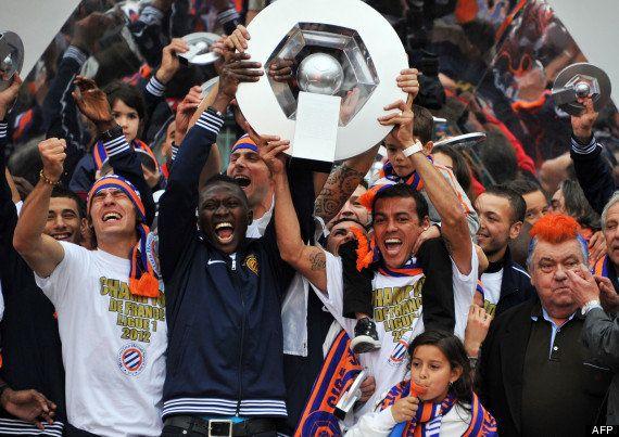Ligue 1: Montpellier champion de France, la ville fête ses héros - PHOTOS -