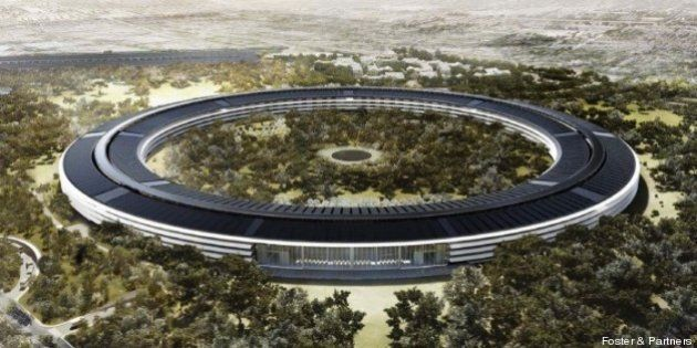 PHOTOS. Les plans du campus d'Apple à Cupertino dévoilés par le cabinet Foster +