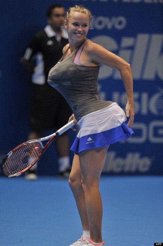 VIDÉO. Caroline Wozniacki: l'imitation de Serena Williams qui dérange lors d'un match exhibition de