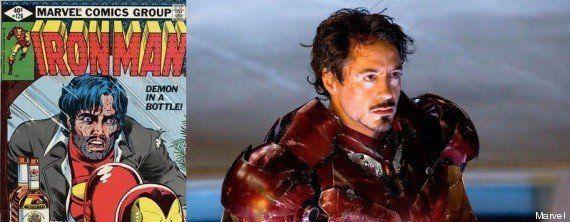 Disney a décidé de faire disparaître l'alcoolisme d'Iron