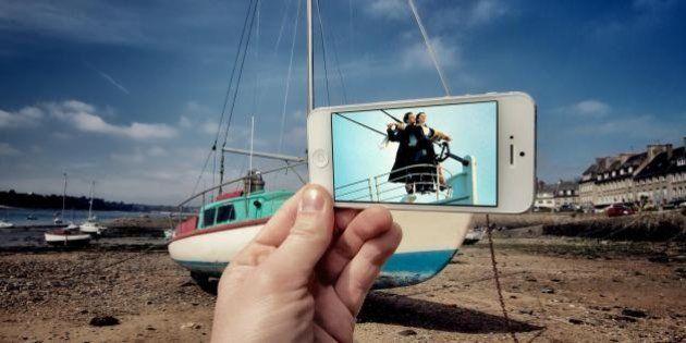 Avec son iPhone et un appareil photo, François Dourlen revisite le