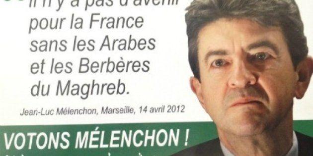 Faux tracts de Mélenchon en arabe : double plainte entre le FN et le