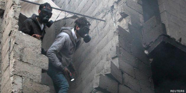 Armes chimiques en Syrie : la