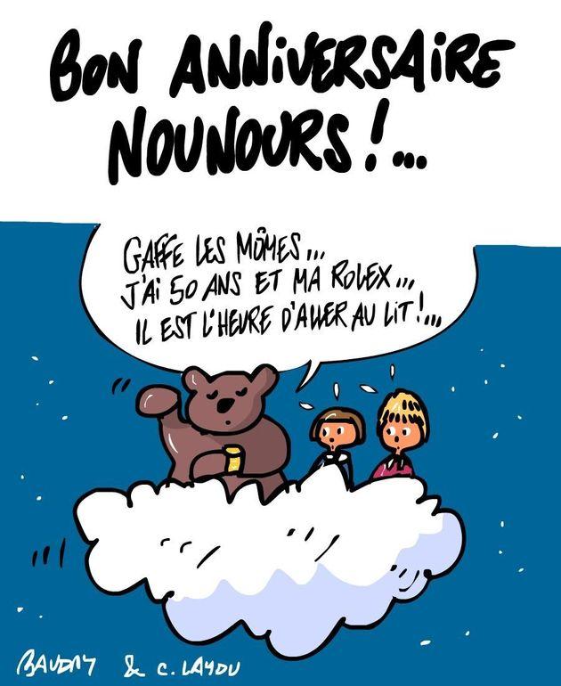 Nounours a 50