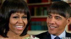 Obama au dîner de la presse: un faux film de Spielberg, des blagues et des photos