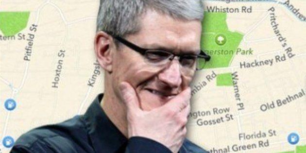 Google Maps fait son grand retour sur l'iPhone et