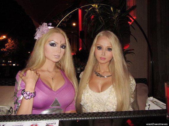 Barbie humaine : Valeria Lukyanova se trouve une sœur de cœur, Olga 'Dominica'
