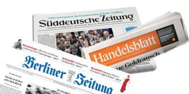 Critique du PS contre Angela Merkel: la presse allemande entre raillerie et