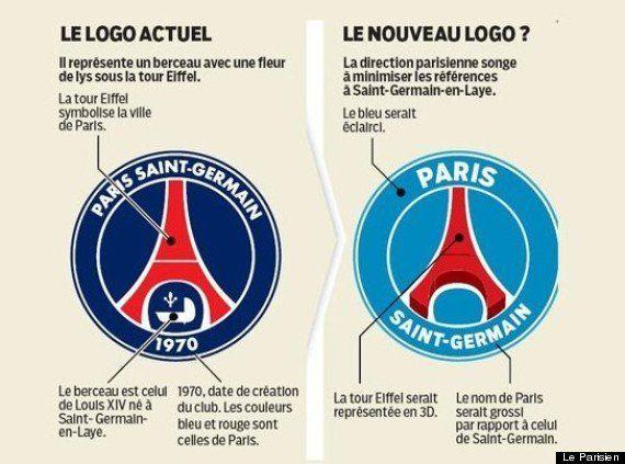 PSG: un nouveau logo qui va faire