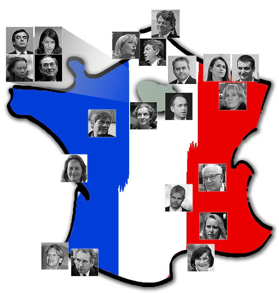 La carte des circonscriptions vedettes des