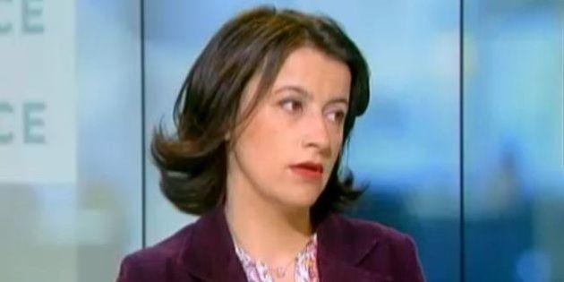 Cécile Duflot défend Pascal Canfin qui a refusé de monter dans un avion pour