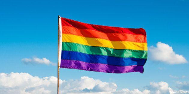 rainbow gay pride flag  miami...