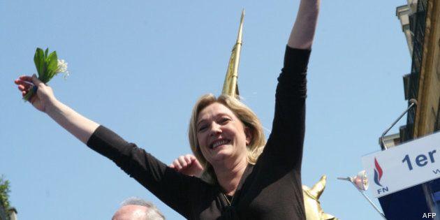 1er mai: Le Pen et le FN dans une bonne dynamique, les syndicats divisés pour