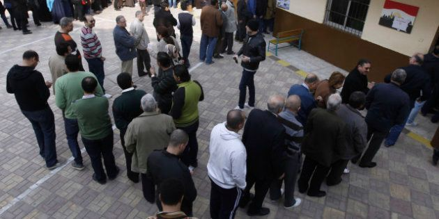 PHOTOS. Égypte: l'opposition dénonce des fraudes lors du vote sur la