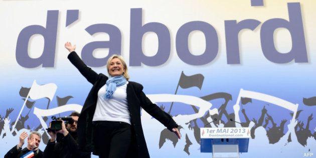 1er mai: Marine Le Pen conquérante malgré une mobilisation en baisse et un discours sans