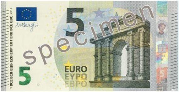 PHOTO. Le nouveau billet de 5 euros est