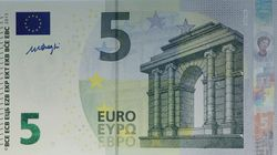 Le nouveau billet de 5 euros est