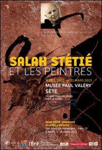 Salah Stétié et les peintres : deux expositions à Sète et à la
