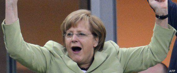 Ligue des Champions : Angela Merkel se réjouit de la finale 100%