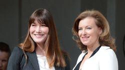 Entre Valérie Trierweiler et Carla Bruni, qui coûte le plus à