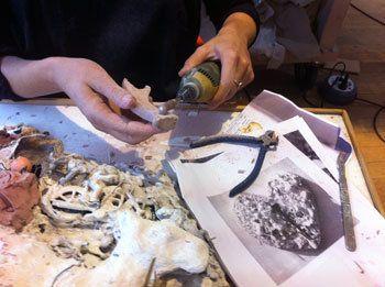 Dans l'atelier de Benoît Janson, magicien en restauration d'art
