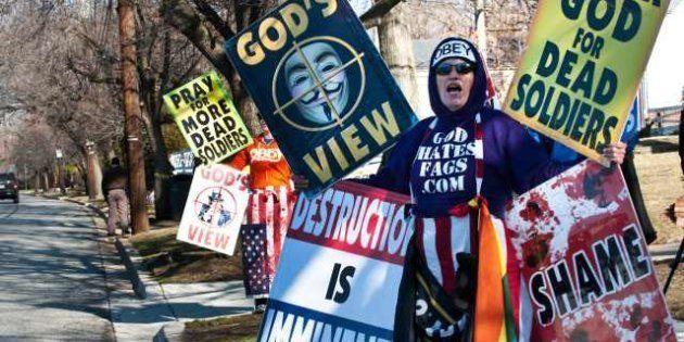 Tuerie de Newtown: La Westboro Baptist Church veut louer Dieu et s'attire les foudres des
