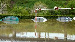 Inondations: 3 départements toujours en vigilance