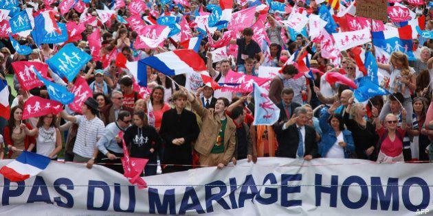 Mariage gay : les opposants à la loi Taubira toujours mobilisés, la manif pour tous a défilé le 5