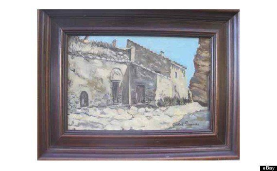 Cecilia Gímenez, l'artiste qui a massacré le Christ de Borja, vend une toile sur
